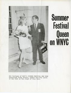 New York is a summer festival indeed. Meet Kathy French (1968) and Cathy Mann (1969), the Summer Festival Queens of New York.