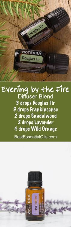 Evening by the Fire doTERRA Diffuser Blend