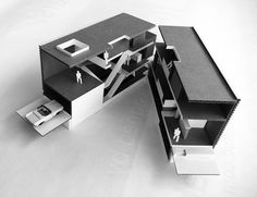 Concept model.  #conceptualarchitecturalmodels Pinned by www.modlar.com