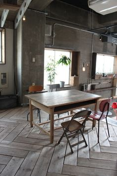 I love the herringbone tweed pattern Reclaimed Wood Floors, Wood Tile Floors, Kitchen Flooring, Kitchen Interior, Home Interior Design, Parquet Chevrons, Parquetry Floor, Chevron Floor, Herringbone Wood Floor