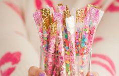 Les moineaux de la mariée: DIY // Confetti sticks