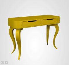 move-móvel-aparador-oval-amarelo-quilha