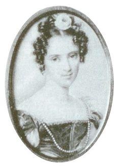 Александра Петровна Дурново, ур. Волконская (1804—1859), фрейлина, статс-дама, была замужем за гофмейстера Павлом Дмитриевичем Дурново (1804—1864)