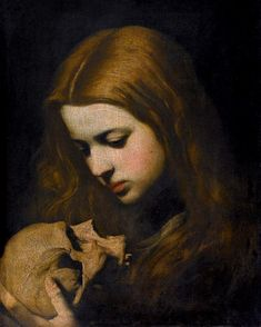 View Maria Maddalena in Meditazione by Jusepe de Ribera on artnet. Browse upcoming and past auction lots by Jusepe de Ribera. William Adolphe Bouguereau, Baroque Painting, Baroque Art, Renaissance Kunst, Renaissance Paintings, Maria Magdalena, Marie Madeleine, Illustration Art, Illustrations