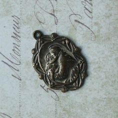 Vintage Italian Art Deco Saint Anthony Patron Of Lost Things American Catholic Medal ~ SOLD!!!