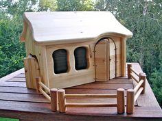"""Unikat Bauernhof   Stall Krippe """"Sarafina"""" von Treety auf DaWanda.com"""