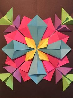 How to Create a 3D Radial Symmetry Paper Sculpture
