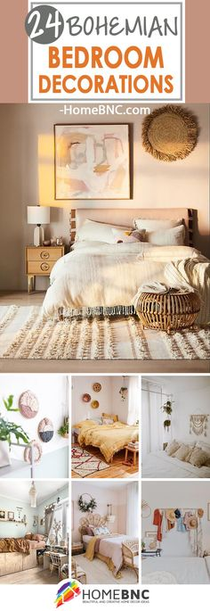 Best Bohemian Bedroom Decor Ideas Bohemian Room Decor, Boho Bedroom Decor, Home Bedroom, Bedrooms, Bedroom Decorating Tips, Decorating Your Home, Bedroom Ideas, Decorating Ideas, Home Decor Inspiration