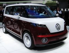 VW Bulli - New Volkswagon Mini Bus concept car