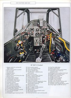Labeled Bf 109 F-4 Cockpit - posted in Screenshots: Labeled cockpit for the Bf 109 F-4.I am not a native german speaker nor an expert on the 109, so if there are any issues please let me know and I can amend the images so they will be updated in this first post without needing to edit the post itself.Items in pink on the the right hand side (radiator flap control) and portions of electrical panel which I couldnt read properly could probably use some better translation.