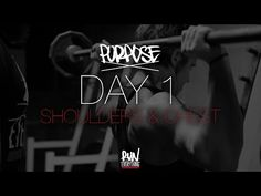 #RELPURPOSE | DAY 1 | SHOULDERS / CHEST - Run Everything Labs