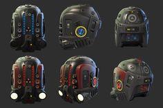 Sci-Fi Helmet | Blender Cookie