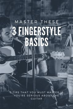 Master these basics, and you'll become a pro at fingerstyle in no time! Guitar Tips, Guitar Songs, Guitar Lessons, Music Songs, Guitar Chords And Scales, Guitar Chord Chart, Elementary Music Lessons, Vocal Lessons, Guitar Strumming