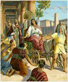 Joseph made ruler of Egypt Genesis 41:37-57