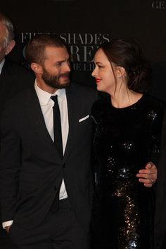 """""""I'll miss his jokes. Most of them are funny - some not so much!"""" #DakotaJohnson about #JamieDornan"""
