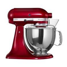 KitchenAid Artisan Mixer, rød metallic