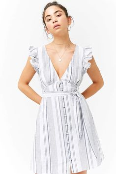 Product Name:Linen Striped Dress, Category:dress, Price:27.9