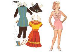 Paper Dolls~7 in 1 doll - Bonnie Jones - Picasa Web Albums