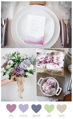 Color Palette: Lilac + Hyacinth