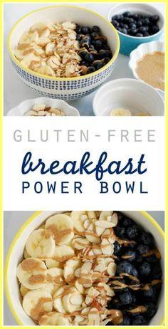 (Gluten-Free) Breakfast Power Bowl // Simply Happenstance #GlutenFree #BreakfastBowl #CleanEating