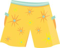 Enjoying the Swimming Pool: Clipart accessories