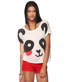 blushing panda top