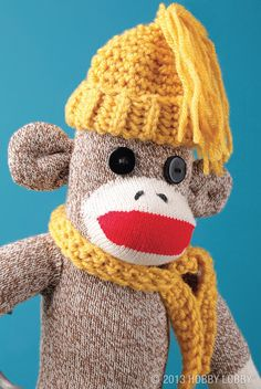 Monkey see, monkey do, monkey accessorize! Now it's time for the fun part! Go bananas by matching your monkey to the season, the occasion or the décor! It's all about choosing the perfect accessories.