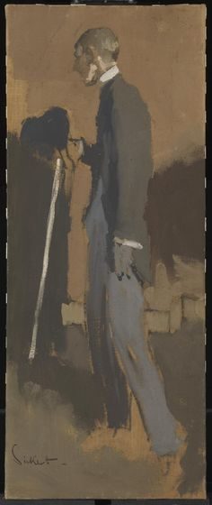 Walter Richard Sickert, 'Aubrey Beardsley' 1894