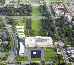 Aerial Photography Nelson Atkins Art Museum, Kansas City