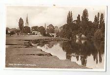 re england Oxfordshire postcard english abingdon church berkshire