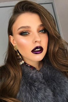 Looking for ideas for autumn bridal look? In our gallery you'll find glamorous fall wedding makeup inspiration, and be sure you'll like it. Fresh Wedding Makeup, Wedding Hair And Makeup, Bridal Makeup, Makeup Inspiration, Makeup Inspo, Makeup Tips, Makeup Ideas, Makeup Art, Makeup Tutorials
