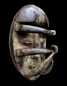 African Artwork, Black Mask, Throughout The World, Black House, Afro, Spiritual, Masks, House Styles, Decor