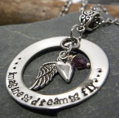 hand stamped-stainless by TaylordMetals on Etsy