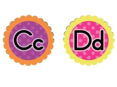 FREE Word Wall Headers/Letters