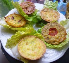 farandole de mini-quiches sans pâte pour apéritif dinatoire