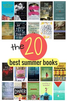 Looking for the best beach reads of 2017 to add to your summer reading list? We've got 20 page-turning recommendations that will keep you up WAY past your bedtime! Summer Books, Summer Reading Lists, Beach Reading, Reading Club, Reading Time, Best Books To Read, I Love Books, Good Books, My Books