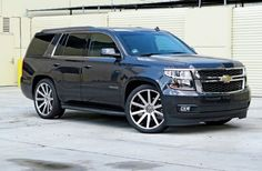 Lowering A 2015 Chevrolet Tahoe With Crown Suspension 2/4-Inch Lowering Kit