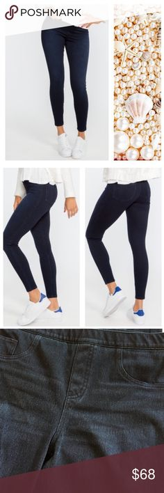 NWOT Spanx Jean Twilight Rinse Leggings New without tags. Spanx Jean Twilight Rinse Leggings. Stretchy. Hugs curves for slim, flattering fit .OFFERS WELCOME. USE THE OFFER BUTTON. SPANX Pants Leggings