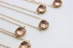 Hey, I found this really awesome Etsy listing at https://www.etsy.com/listing/192968892/15-off-set-of-8-blush-champagne-bracelet