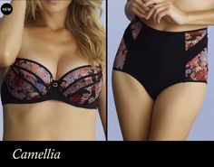 Darkly romantic. Camellia is back in a beautiful autumn inspired floral print; Floral Black. This seasons must-have from our #intimatebritneyspears collection. #fashion #lingerie #CHANGELingerie #britneyspears #bra #panties