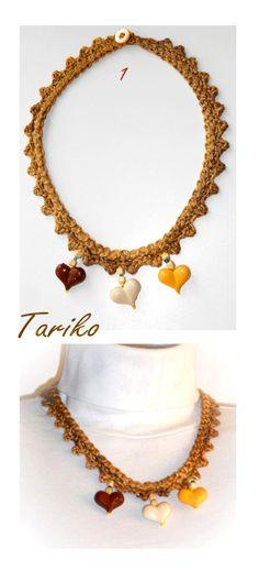 БЕЗПЛАТНА ДОСТАВКА Плетени necklaceValentine чрез BGTariko на Etsy