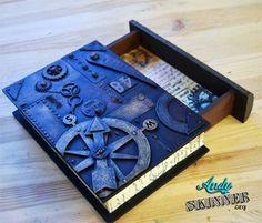 Altered Steampunk Book