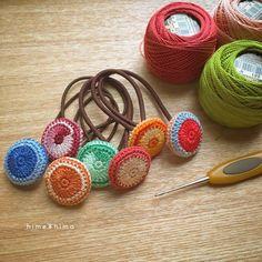Crochet Necklace, Instagram Posts, Earrings, Jewelry, Crochet Accessories, Stud Earrings, Crocheting, Tejidos, Blue Prints