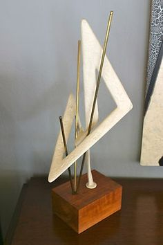 mid century abstract sculpture art
