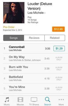K Michelle Album Cover Lea´s first album: