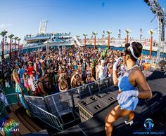 Groove Cruise Pics Days Of HalfNaked Women And Nonstop EDM - Cruise ship naked