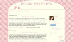 Pretty Blogger Template. Blue & Lace. Responsive Blogger theme ...
