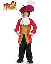 Captain Hook from Jake and the Neverland Pirates Toddler Costume - tv-and-movie - baby-toddler