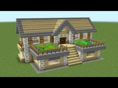 Minecraft - How To Build A Birch Survival House - Minecraft Servers Web - MSW - . - Minecraft – How To Build A Birch Survival House – Minecraft Servers Web – MSW – Channel Villa Minecraft, Minecraft Mods, Plans Minecraft, Architecture Minecraft, Minecraft Server, Minecraft World, Cute Minecraft Houses, Minecraft House Tutorials, Minecraft Houses Survival