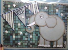 Technique Punch Art Éléphant Punch Art, Creations, Cards, Elephant Art, Make Art, Map, Playing Cards, Maps